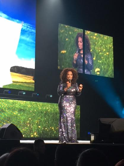 An intimate evening with Oprah