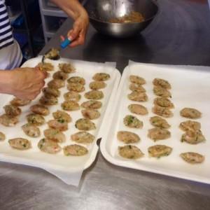 Fraser Island Prawn and Snapper Dumplings